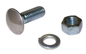 1947-1987 Bumper bolt and nut