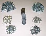 1968-1972 Bed strip bolt kit