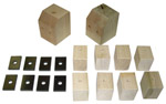 1941-1946 Bed mounting blocks and pads only