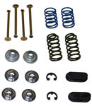 1960-1963 Brake hold down kit