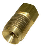 1936-1991 Steel brake line nut adapter