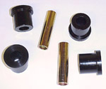 1981-1987 Leaf spring frame shackle bushings only
