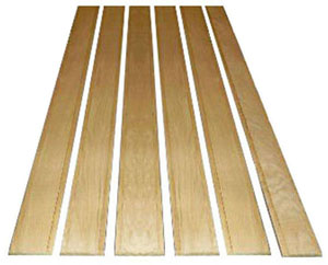 1934-1936 Bed wood