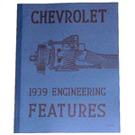 1939 Chevrolet engineering features book