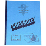 1940 Chevrolet engineering features book