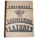 1952 Chevrolet engineering features book