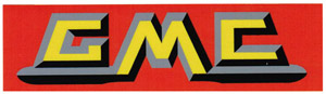 1955-1959 Engine valve cover decal