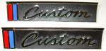1967-1968 Outside door emblems