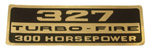 1962-1966 Valve cover decal