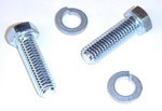 1948-1953 Motor mount bolts (2) and washers (2)