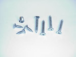 1960-1963 Screw set for both vent windows