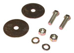 1947-1972 Lap belt mounting hardware