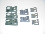1971-1972 Clips for the brake lines