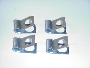 1960-1966 Clips for the 5/16 inch fuel lines