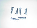 1967-1972  Vent window pillar screw set
