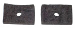 1947-1951 Brake and clutch floor felt seal