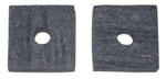 1952-1955 Brake and clutch floor felt seal
