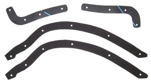 1939-1940 Running board to fender gaskets