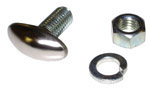 1938-1946 Bumper bolt with nut and lock washer