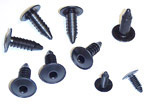1967-1972 Firewall cover fasteners