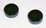 1967-1972 Green direction signal indicator lenses only