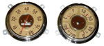 1948-1951 Gauge cluster and speedometer assembly