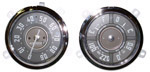 1952-1953 Gauge cluster and speedometer assembly