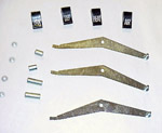 1960-1963 Heater and defroster levers