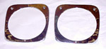 1964-1966 Headlight bezels