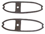 1955-1958 Oval gaskets for taillight and backup lights