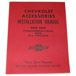 1954 Accessory installation manual