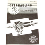 1948-1954 Transmission overhaul manual