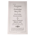 1946 Accessory listing