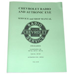 1955-1959 Radio service and shop manual