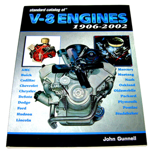 1906-2002 Standard Catalog of V8 Engines book