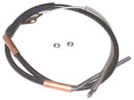 1937-1946 Brake cable - rear