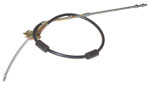 1947-1955 Brake cable - rear