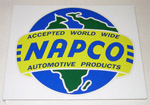 1936-1987 Metal sign with NAPCO (4x4) decal