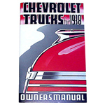 1938 Owners manual