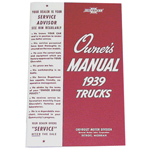 1939 Owners manual