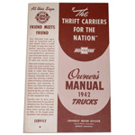 1942 Owners manual