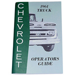 1961 Owners manual