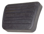 1974-1991 Pedal pad for brake or clutch pedal