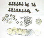 1934-1987 Rear fender bolt kit