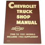 1948-1953 Shop manual book