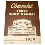 1954-1955 Shop manual book