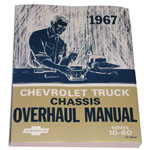 1967 Chassis overhaul manual book