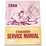 1968 Chassis service manual book