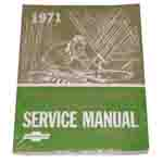 1971 Chassis service manual book