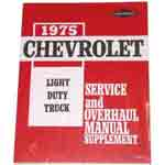 1975 Shop manual book